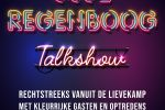 Osse regenboog talkshow live vanuit de Lievekamp
