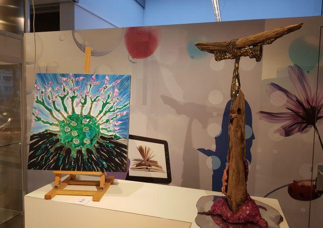 Expositie van kunstenaar Alex van der Heijden te zien in Bibliotheek Oss