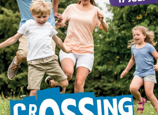 Nieuwe familieactiviteit CrOSSing brengt gezinnen in beweging