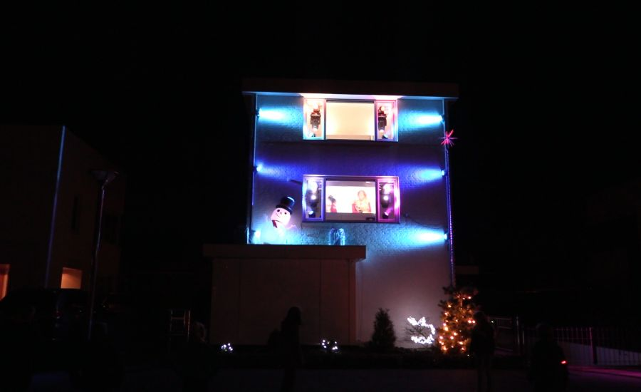 Bergse Harm creëert 'Amerikaans Kersthuis'