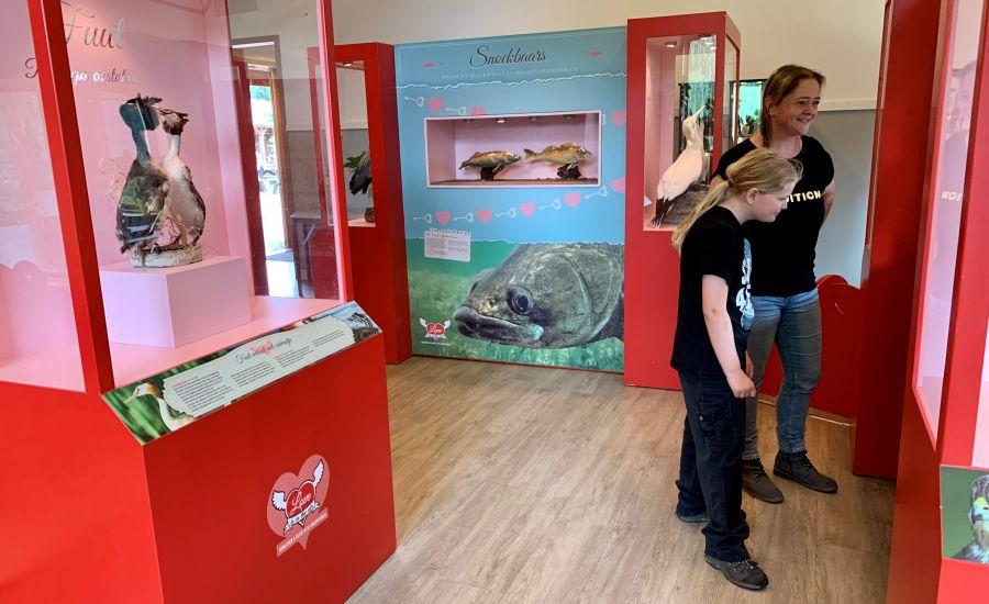 Tentoonstelling Love is in the Air! bij kinderboerderij De Elzenhoek