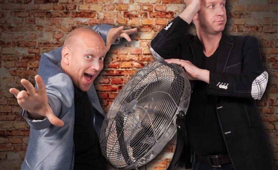 Komisch duo Rob en Emiel dit weekend in De Lievekamp