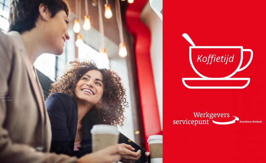 Koffietijd: online sessies met bekende werkgevers in de regio