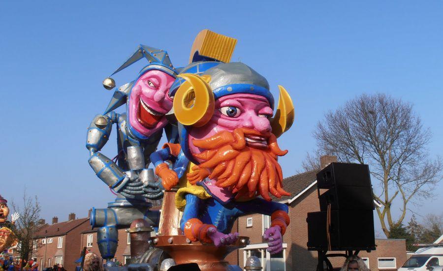 Het mooist versierde Carnavalshuis verkiezing