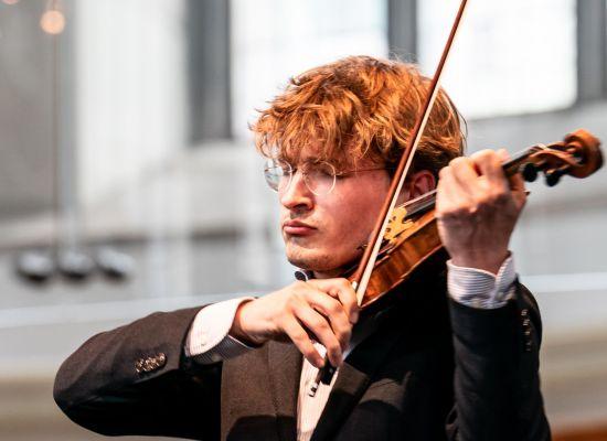 Intiem concert violist Jeroen Dupont in Ravenstein