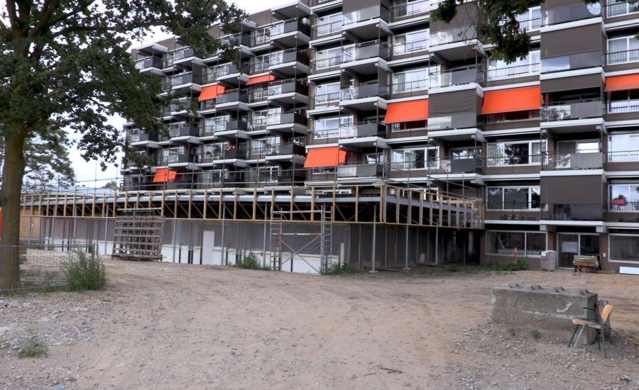 Hoogste punt nieuwbouw wijkcentrum Ruwaard