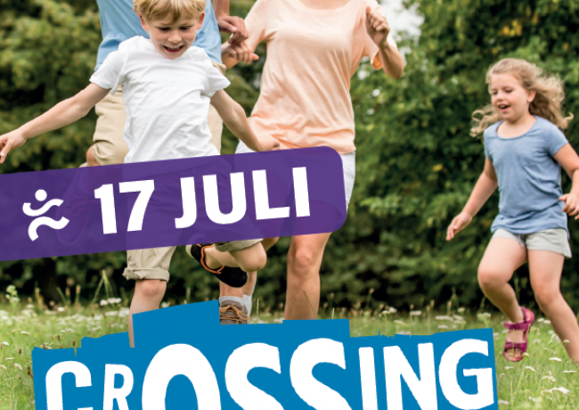 Familieactiviteit CrOSSing op 17 juli