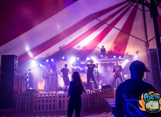 Punk Ass Ninja's viert 10 jarig jubileum op Hoessebosch Festival