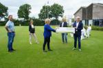 Opnieuw 4 cheques uitgereikt vanuit Osse Sportakkoord