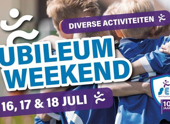Sport Expertise Centrum viert 10-jarig jubileum met activiteitenweekend