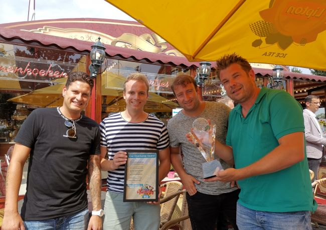 Stichting Berghem Events wint Cor Overkamp award