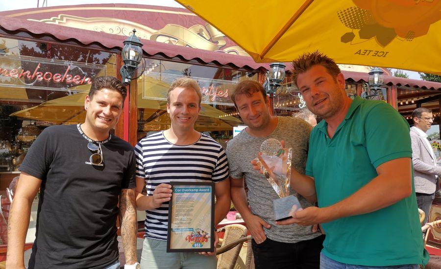 Stichting Berghem Events wint Cor Overkamp award